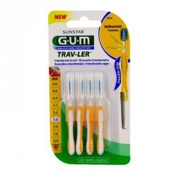 GUM - Trav-ler - Brossettes interdentaires 1.3mm - 4 brossettes