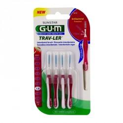 GUM - Trav-ler - Brossettes interdentaires 1.4mm - 4 brossettes