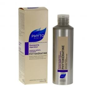 PHYTO - PHYTOKÉRATINE - Shampooing réparateur - Cheveux abîmés, cassants - 200ML