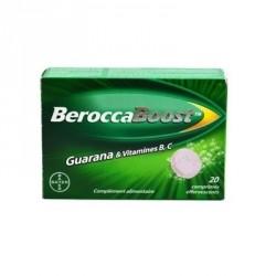 BEROCCA BOOST - Effet coup de fouet - Mental et physique - 20 comprimés effervescents