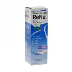 RENU MPS - Solution multifonctions - Formule classique - Nettoie, décontamine et rince - 360ML