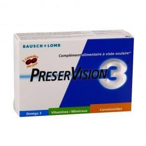 PRESERVISION 3 - Complément alimentaire à visée oculaire - 60 capsules