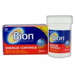 BION 3 - ENERGIE CONTINUE - Vitamines B & C - Dynamisme au quotidien - 30 comprimés