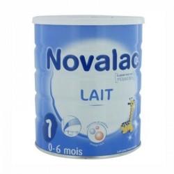 NOVALAC 1 - 1er âge - 0 à 6 mois - Lait en poudre pour nourrissons - 800G