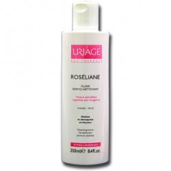 Uriage roséliane fluide dermo-nettoyant 250ml