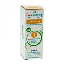 PURESSENTIEL - Huile essentielle Arbre à thé Bio - 10ml