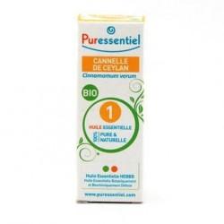 PURESSENTIEL - Huile Essentielle Cannelle de Ceylan Bio - 5ml