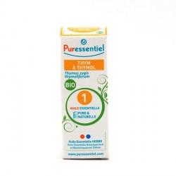 PURESSENTIEL - Huile essentielle Thym Thymol Bio - 5ml