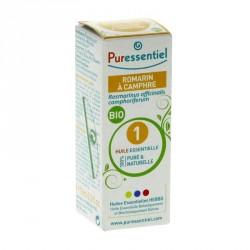 PURESSENTIEL - Huile Essentielle Romarin Camphre Bio - 10ml