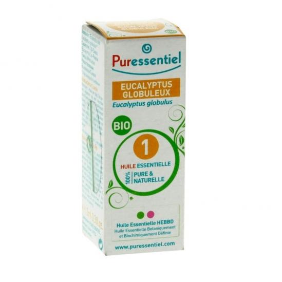PURESSENTIEL - Huile Essentielle Eucalyptus Globuleux Bio - 10ml