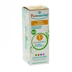 PURESSENTIEL - Huile essentielle thym à linalol bio - 5ml