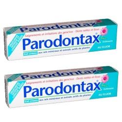 PARODONTAX - Dentifrice Gel Crème - 2x75ml
