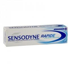 SENSODYNE - Dentifrice Rapide et Protection longue durée - 75ml