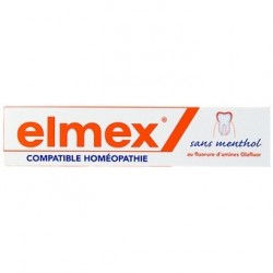 ELMEX - Dentifrice Anti-caries sans Menthol - 75ML