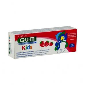 GUM - Kids 2-6 ans - Dentifrice Fluoré enfants - 50ml