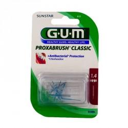 GUM - Brossettes Interdentaires Proxabrush 612 Classic - 8 brossettes