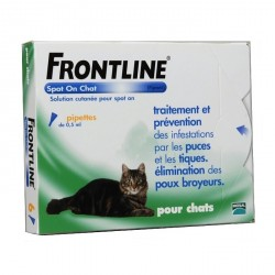 MERIAL - Frontline Spot-On Chat - 4 pipettes