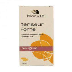 BIOCYTE Nutricosmetic - Tenseur Forte - Peau raffermie - 40 gélules