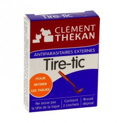 CLÉMENT THÉKAN - Tire-tic - 2 crochets anti-tiques