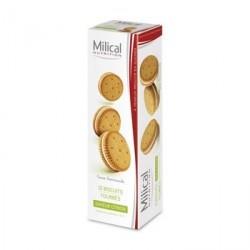 MILICAL - Nutrition - Biscuits fourrées saveur citron - 12 biscuits