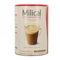 MILICAL Hyperprotéiné - 18 boissons minceur - Saveur cappuccino