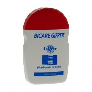 GIFRER - Bicare - Bicarbonate de sodium - 60g