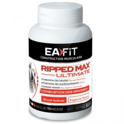Eafit ripped max ultimate séchage global 120 comprimés