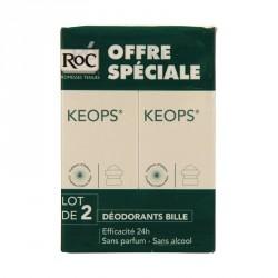 ROC - Keops - Déodorant à bille - 2x30ml