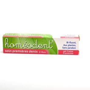 Boiron dentifrice soin premières dents homéodent 50ml