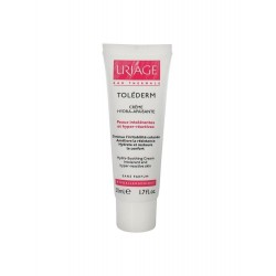 URIAGE - Toléderm - Crème Hydra-Apaisante - Peaux intolérante et hyper-réactives - 50ml