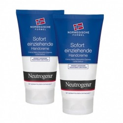 NEUTROGENA - Crème Mains Absorption Express - 2x75ml