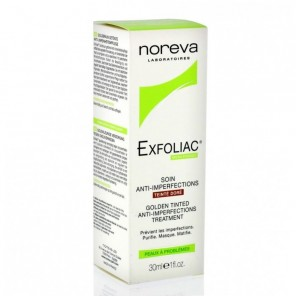 Exfoliac Soin Anti-Imperfections Teinté Doré 30 ml