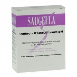 SAUGELLA - Intilac - Rééquilibrant pH - Gel intravaginal - 7 doses