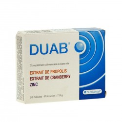 DUAB - Le bien-être féminin par nature - 20 gélules