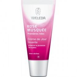 WELEDA - Crème Jour lissante Rose Musquée - 30ml