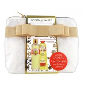 Roger Gallet Trousse Fleur d'Osmanthus Eau parfumée vaporisateur 30ml + Crème main 30ml