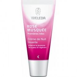 WELEDA - Crème Nuit lissante Rose Musquée - 30ml