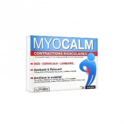 3C PHARMA - Myocalm - Contractions musculaires - 30 comprimés