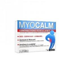 3 CHÊNES - MYOCALM - Contractions musculaires - 30 comprimés