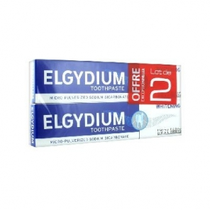 ELGYDIUM - Dentifrice Blancheur - 2 x 75 ml