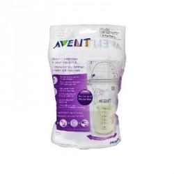 PHILIPS AVENT - 25 Sachets de Conservation pour Lait Maternel - 180 ml