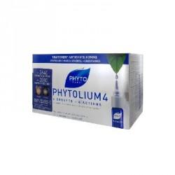 PHYTO - PHYTOLIUM 4 - Traitement antichute homme concentré intensif - Chutes de cheveux sévères, héréditaires - 12x3,5ML