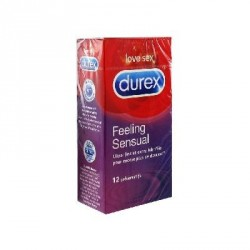 DUREX - Feeling Sensual - Ultra-fins et Extra lubrifiés - 12 Préservatifs