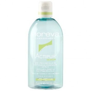 Noreva Actipur Solution Micellaire Nettoyante Purifiante 500 ml