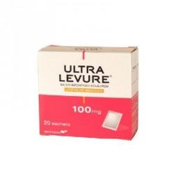 Ultra levure 100mg poudre pour suspension buvable 20 sachets