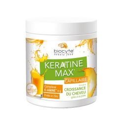 BIOCYTE - Keratine Max - Capillaire - Croissance du cheveu - 240g