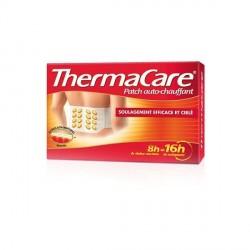 THERMACARE - Patch auto-chauffant 16H - Soulage les douleurs - Bas du dos, genou et coude - 4 patchs
