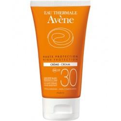 Avène crème solaire visage peaux sensibles et sèches spf 30 50ml