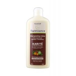 NATESSANCE - Shampooing Crème - Karité et Kératine Végétale - 250ml