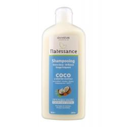 Natessance Shampooing Coco et Kératine Végétale 250 ml